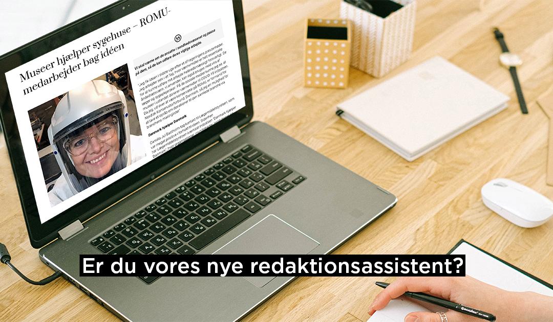 ROMU SØGER NY STUDENTERMEDHJÆLP TIL DIGITAL FORMIDLING
